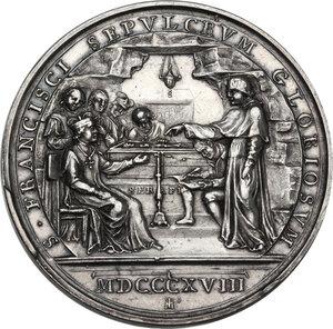 reverse: Pio VII (1800-1823), Barnaba Chiaramonti. Medaglia annuale, A. XXII
