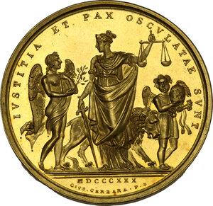 reverse: Pio VIII (1829-1830). Medaglia annuale A.II