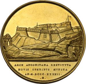 reverse: Roma. Gregorio XVI (1831-1846), Bartolomeo Alberto Cappellari. Medaglia annuale A.XII