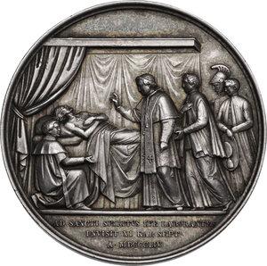 reverse: Pio IX (1846-1878), Giovanni Mastai Ferretti. Medaglia annuale A. X
