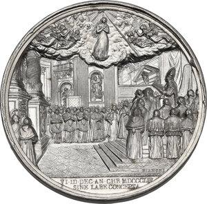 reverse: Pio IX (1846-1878), Giovanni Mastai Ferretti. Medaglia annuale A. XI