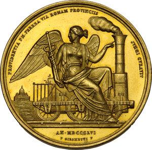 reverse: Pio IX (1846-1878), Giovanni Mastai Ferretti. Medaglia annuale A. XII