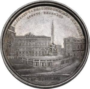 reverse: Pio IX (1846-1878), Giovanni Mastai Ferretti. Medaglia annuale, A. XXII