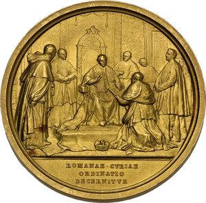 reverse: Pio X (1903-1914), Giuseppe Melchiorre Sarto. Medaglia annuale A.VI