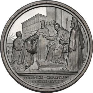 reverse: Benedetto XV (1914-1922), Giacomo Della Chiesa . Medaglia annuale A. IV