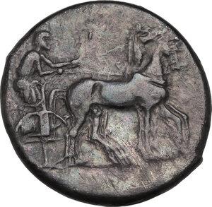 obverse: Katane. AR Tetradrachm, c. 435-412 BC
