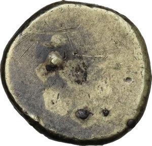 reverse: Etruria, Populonia. Pale AV 25-Asses, c. 300-250 BC