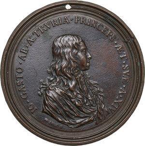 obverse: Gian Gastone de  Medici (1671-1737). Medaglia uniface