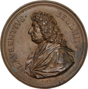 obverse: Lorenzo Bellini (1643-1703). Medaglia uniface