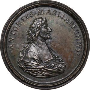 obverse: Antonio Magliabechi (1633-1714). Medaglia