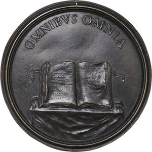 reverse: Antonio Magliabechi (1633-1714). Medaglia