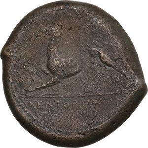 reverse: Kentoripai. AE litra, 344-336 a.C