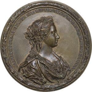 obverse: Maria Teresa d Austria (1717-1780). Medaglia 1743