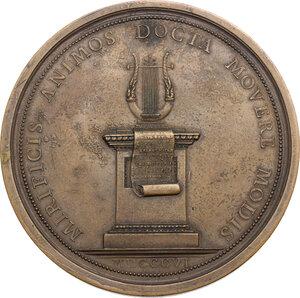 reverse: Giovanni Battista Pergolesi (1710-1736), Compositore. Medaglia 1806
