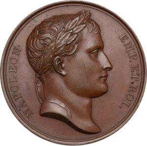 obverse: Napoleone I (1805-1814) Imperatore di Francia e Re d Italia. Medaglia 1807