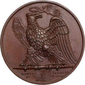 reverse: Napoleone I (1805-1814) Imperatore di Francia e Re d Italia. Medaglia 1807