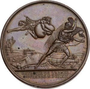 reverse: Napoleone I (1805-1814) Imperatore di Francia e Re d Italia. Medaglia 1812 per la ritirata dell esercito durante la Campagna di Russia