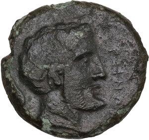 obverse: Kersinoi. AE Tetras, c. 344-339 BC