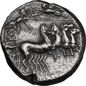 obverse: Lilybaeum (as Cape of Melqart). AR Tetradrachm, c. 360-330 BC