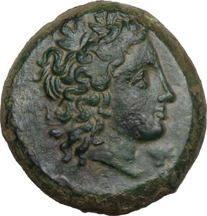 obverse: Morgantina. AE 21 mm, c. 339/8-317 BC