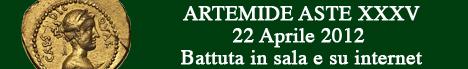 Banner Artemide Aste - Asta  XXXV