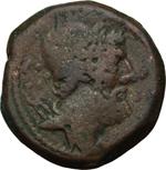 obverse:  C. Cassius Longinus. Dodrans, 126 a.C.