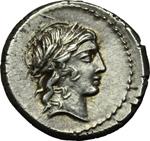 obverse:  L. Censorinus. Denario, 82 a.C.