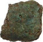 obverse:  Aes formatum. Frammento terminale di lingotto. Lazio, VIII-IV secolo a.C.