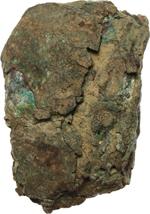 reverse:  Aes formatum o signatum (?) Frammento di lingotto con impronte incerte, suggestive per ramo secco. Lazio, VIII-IV secolo a.C.