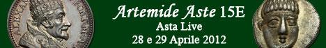 Banner Artemide Aste - Asta  15E