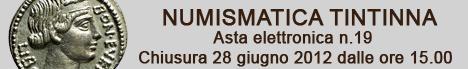 Banner Tintinna - Asta Elettronica 19