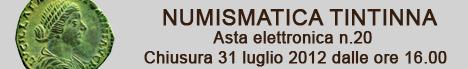 Banner Tintinna - Asta Elettronica 20