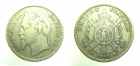 Napoleone III 5 Franchi 1869