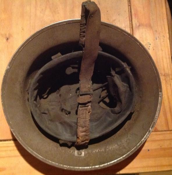 WW1 C1915 British Brodie 'Raw Edge' Combat Helmet - Dea Moneta