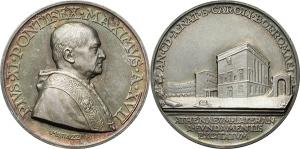 Pio XI (1922-1939), Achille Ratti Medaglia annuale, A. XVII. Nuovo ateneo lateranense.