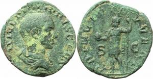Filippo II Cesare (244-247) Sesterzio, ca. 244-246.