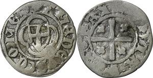Casa Savoia  Amedeo VIII, Conte (1391-1416) Obolo di bianchetto