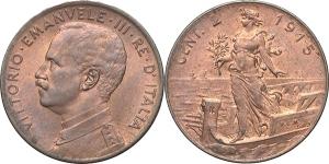 Vittorio Emanuele III (1900-1946) 2 centesimi