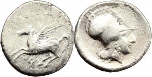 Corinthia, Corinto   Statere, 405-345 a.C.