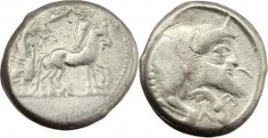 Gela   Tetradracma, ca. 470 a.C.