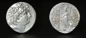 SELEUCID Antiochus VII Eurgetes Tetradrachm  138-129 BC.