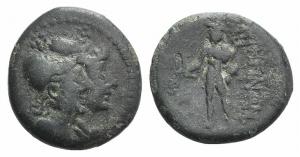 ITALY, BRUTTIUM, Rhegion. Circa 215-150 BC . Æ Triens