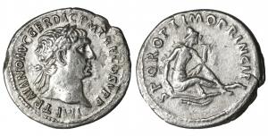 TRAJAN. 98-117 AD. Silver Denarius. 2.90 gr. - 19.5 mm. O:\ IMP TRAIANO AVG GER DAC PM TRP COS V P P