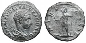 Severus Alexander. Denarius. Antioch mint, 222 AD. 2,0 gr. – 18,9 mm. O:\ IMP C M AVR SEV ALEXAND AV