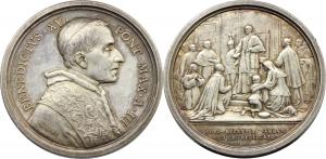 Benedetto XV (1914-1922), Giacomo Della Chiesa. Medaglia annuale, A. III. Promulgazione Diritto Cano