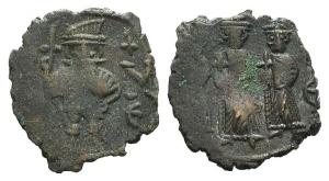 Constans II (641-668). Æ 40 Nummi. Constantinople.