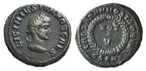 Licinius II (Caesar, 317-324). Æ Follis. Thessalonica, AD 320.