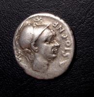 Denario Repubblicano CORNELIA 112-111 a.C.