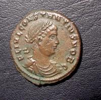 Costanzo II Bronzo GLORIA EXERCITUS Bellissimo