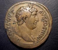 Sestertius di Adriano 117-138 d.C. Grande Modulo